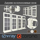 Wood - aluminum windows, view 05 part 01 set 04