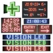 LED display modules. Set 02