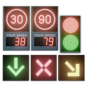 LED display modules. Set 03