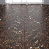 Dark Brown Marble Tiles in 2 types