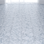 Light Grey Marble Tiles in 2 types