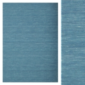 Carpet Carpet Vista Kilim loom - Blue CVD9062