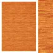 Carpet Carpet Vista Kilim loom - Orange CVD8778