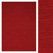 Carpet Carpet Vista Kilim loom - Dark Red CVD8712