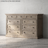 LIVINGSTON EXTRA WIDE DRESSER
