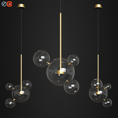 Giopato & Coombes Bolle Pendant 4 Bubbles