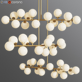 Suspension light The Mimosa Pendant 16 Plafonds by Atelier Areti