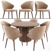 Ellen Astele Dining Table Chair