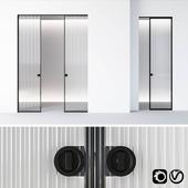 Aladin Pocket Mono door by Glas Italia