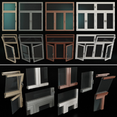Stained glass windows / Stained glass windows