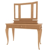 CA728 mirror and dressing table CA727 Brunello factories Camelia collection