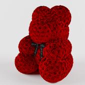 Teddy bear of roses