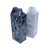 Vase milk package
