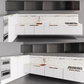Kitchen Scavolini MIA white prestige