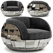 Phillips Collection Crazy Cut Club Chair