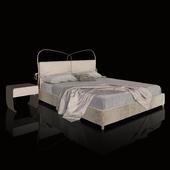 Double bed ST. TROPEZ IMBOTTITO / CANTORI