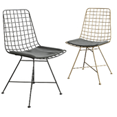 Grid Black Chair
