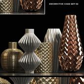 Decorative vase set 2