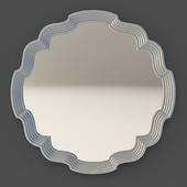 OM Mirror Fratelli Barri RIMINI in silver plating finish, FB.MR.RIM.216