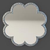 OM Mirror Fratelli Barri RIMINI in silver plating finish, FB.MR.RIM.217