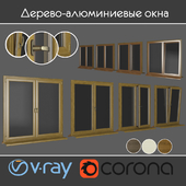 Wood - aluminum windows, view 01 part 01 set 06