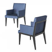 Hampton dinning chair by Holly Hunt