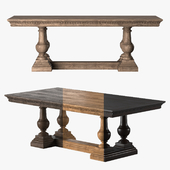 ST. JAMES RECTANGULAR EXTENSION DINING TABLE