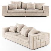 Visionnaire BABYLON Sectional leather sofa_01