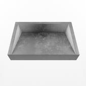 "concrete sink ""Prism"""