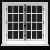 FRENCH WINDOW №2 2000x2000 (CORONA_VRAY)