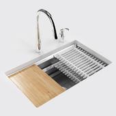 "Кухонная мойка: KOHLER Prolific 29"" under-mount single-bowl kitchen sink"