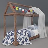 Children's bed sea