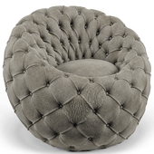 Ramie Gray Egg Chair