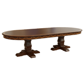 Dining table with veneer_3000