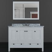 "Samples 49 ""Single Bathroom Vanity Set with Mirror By Winston Porter"
