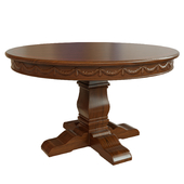 Dining table with carving_1200