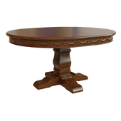 Dining table with carving_1500