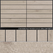 ABK Crossroad Wood Sand 200x1200 Set 2