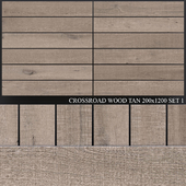 ABK Crossroad Wood Tan 200x1200 Set 1