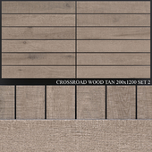 ABK Crossroad Wood Tan 200x1200 Set 2