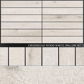 ABK Crossroad Wood White 200x1200 Set 2
