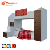 bunk bed teenage with extra bed