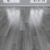 Parquet Oak gray, 3 types: herringbone, linear, chevron.