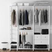 Wardrobe Elvari Ikea