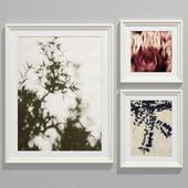Abstract botanical art