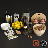 Decorative Kitchen set 001