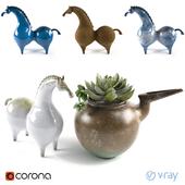 pottery_horse