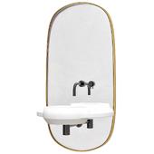 Bathroom console arco