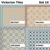 Topcer Victorian Tiles Set 16