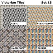 Topcer Victorian Tiles Set 18